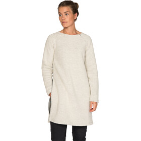 Varg Fårö Long Wool Dress Dam off white